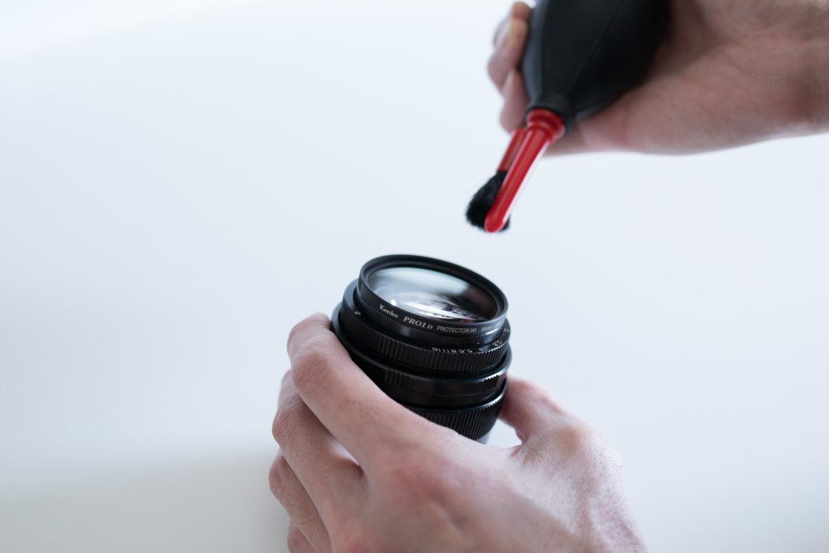 一眼レフカメラ | レンズの掃除、手入れに必要なアイテム3つ