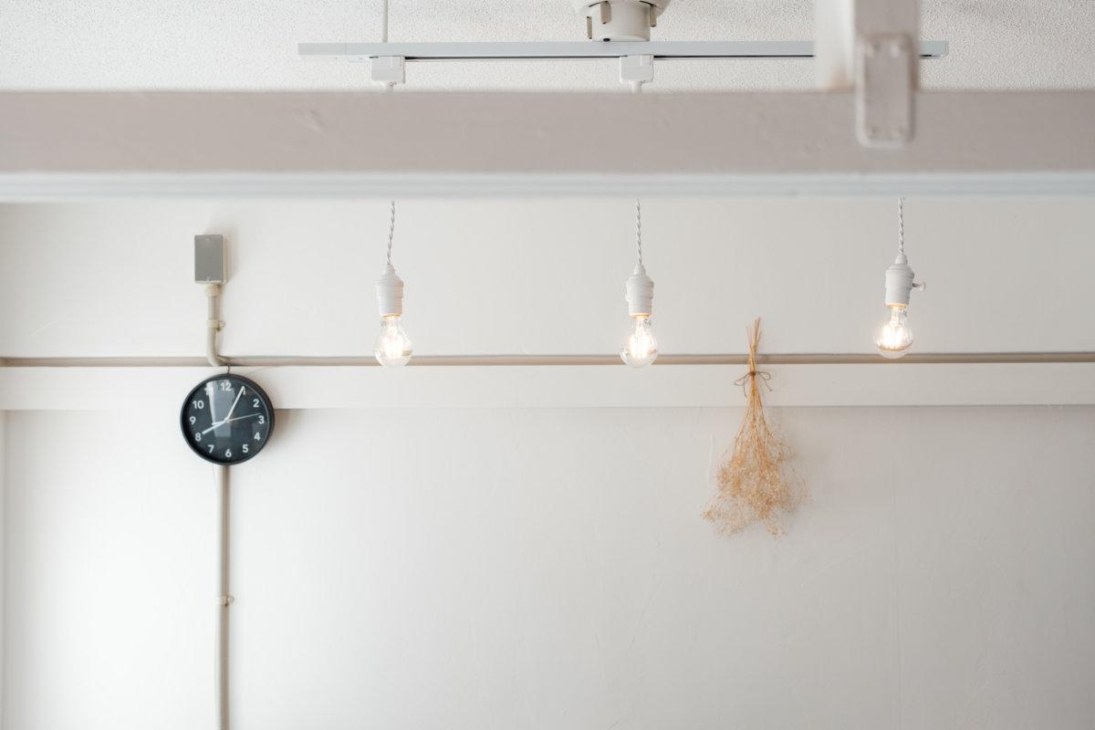 DIY | 賃貸でもカフェ風おしゃれ照明
